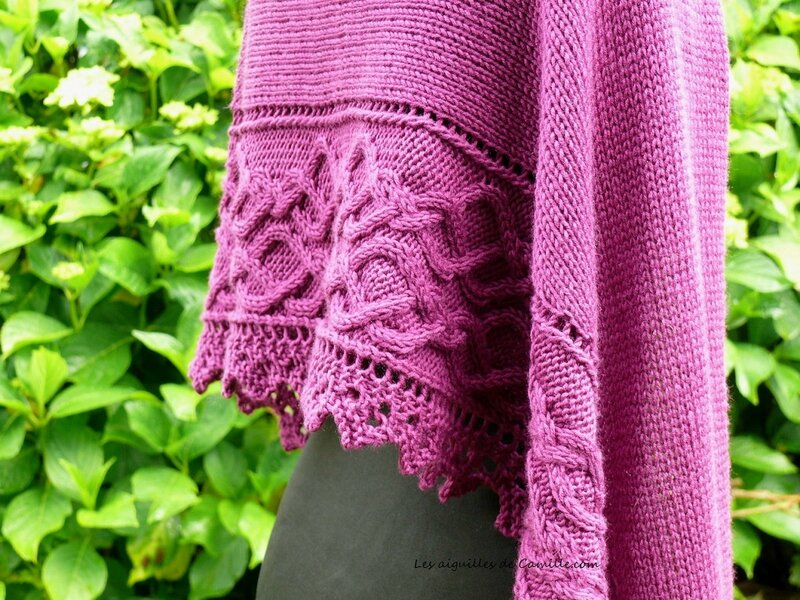 Lovely day shawl 3
