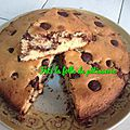 Gâteau fourré choco