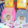Alicia & Enola à 9 semaines