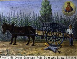 Ex-voto Louise Gensolen