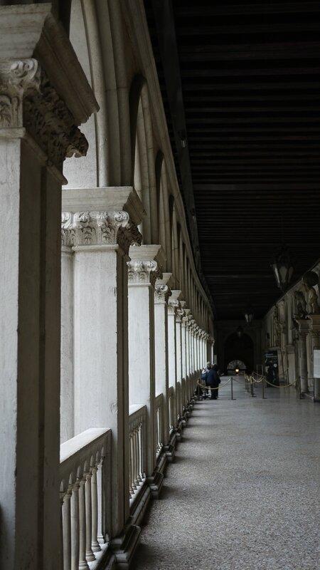 Les coursives du Palais des Doges