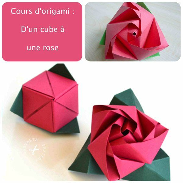 rose cube