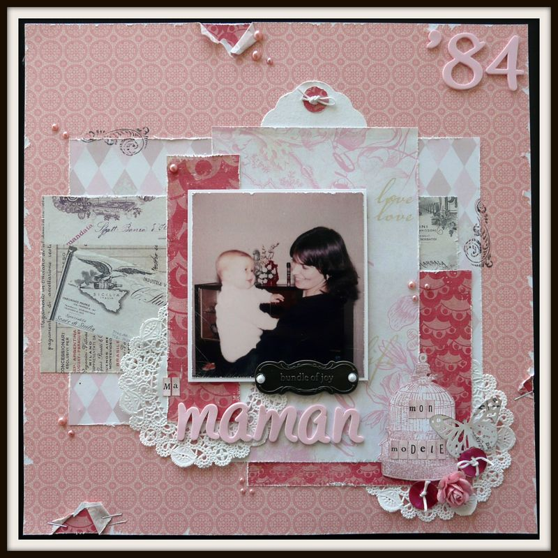 modele scrapbooking simple