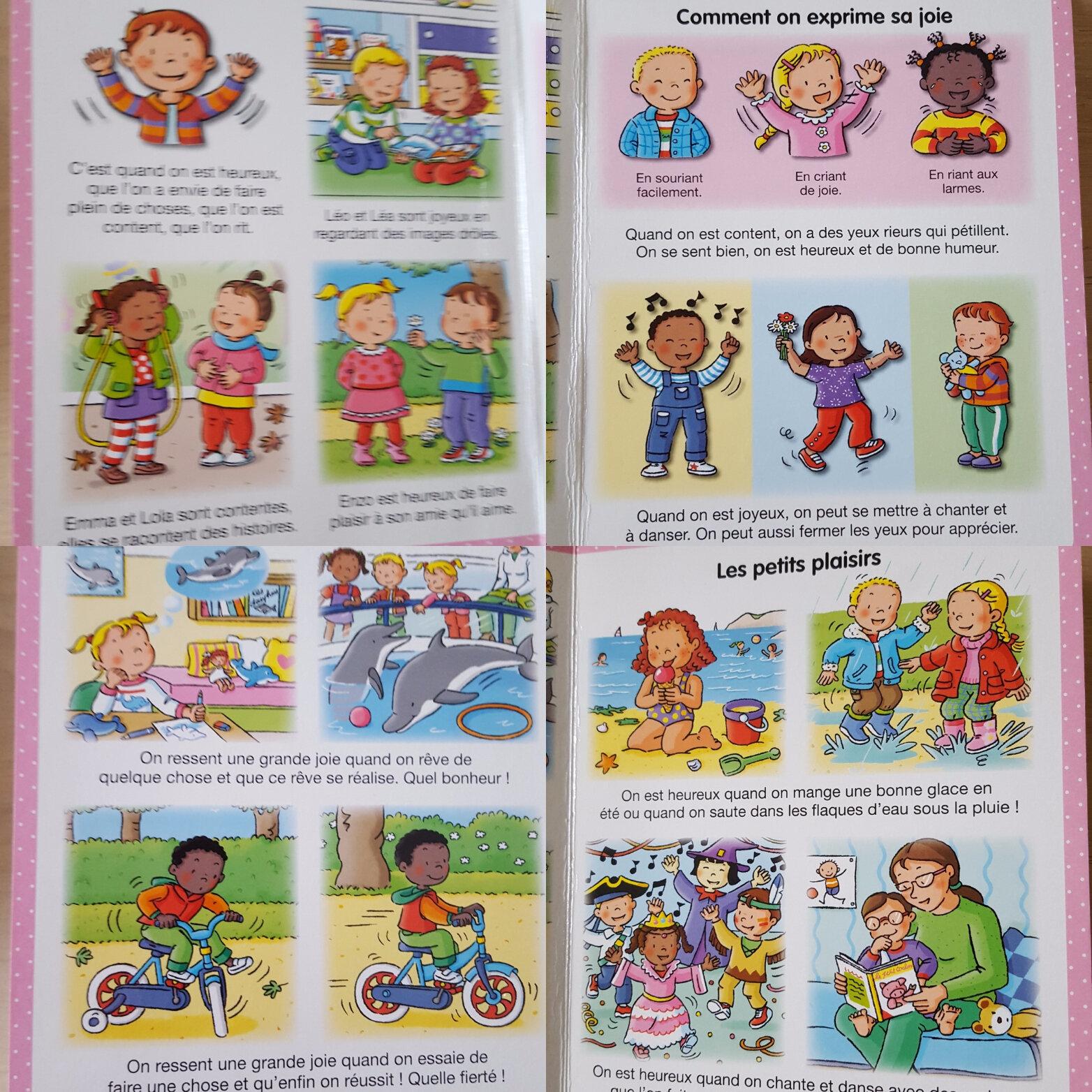 émotions expliquées aux enfants