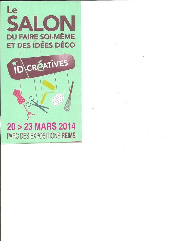 Salon id creatives reims aux fils de mes passions for Salon reims