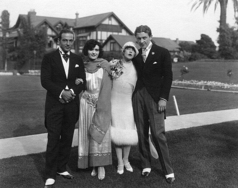 Rudolph Valentino, Pola Negri, Mae Murray, David Mdivani