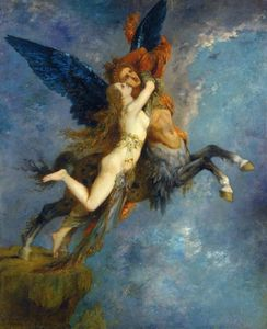 Gustave Moreau - The Chimera 1