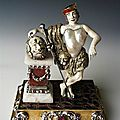 David with the head of goliath, probably dresden to 1700-1706