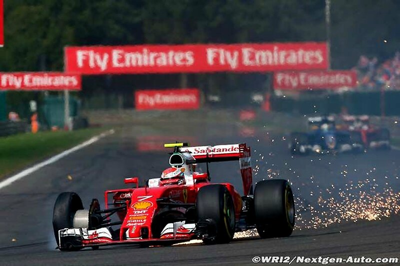 2016-Spa Francorchamps-SF16-Raikkonen