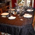 Table pour le fêtes