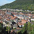 Heidelberg (baden-württemberg) et speyer (rheinland-pfalz)) deux villes allemandes au riche passe historique.