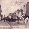 Dfil - Sortie de la caserne