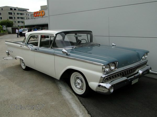 ford custom 300 4door sedan 1959 a