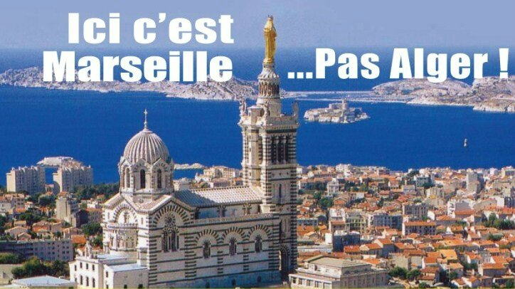 Marseille pas Alger