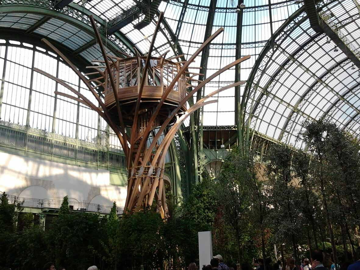 L 39 art du jardin au grand palais my cup of tea for La plus grande cabane du monde