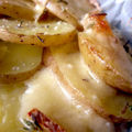 Gratin de pommes de terre au comt