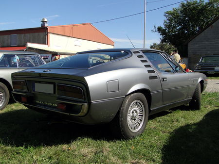 ALFA ROMEO Montreal 1970 1977 Randonnee des Vendanges de Rustenhart 2010 2