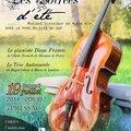 Concert classique à pressac ( 86-vienne)