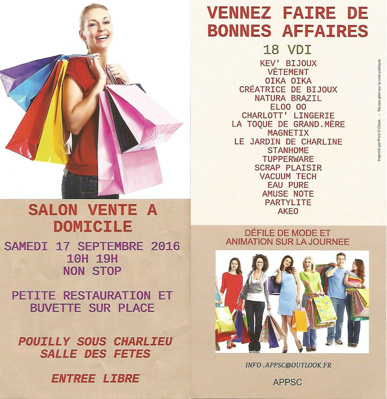 Salon vdi samedi 17 septembre 2016 pouilly sous charlieu for Salon vdi