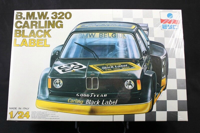 maquette 1 24 bmw320 turbo carling black label