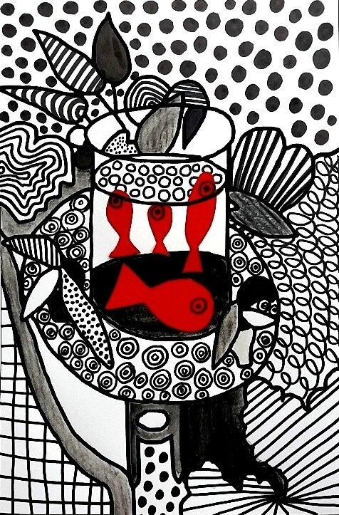 254_Noir et blanc_Du graphisme avec Matisse (46B)