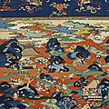 A rare large 'hundred boys' kesi panel, late ming dynasty