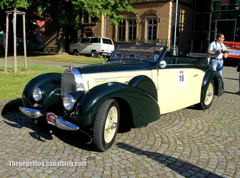 Bugatti type 57 cabriolet de 1939 (Paul Pietsch Classic 2014) 01