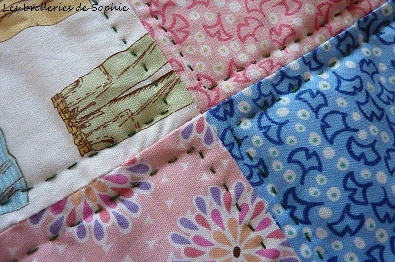 Couverture bb rose et bleue (5)