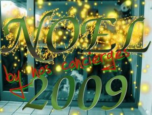 "noel 2009 'by nos concierges"" !"