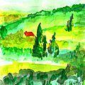 Vert ! art journal et gribouillages