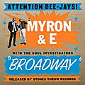 Myron and e...un coup de coeur musical