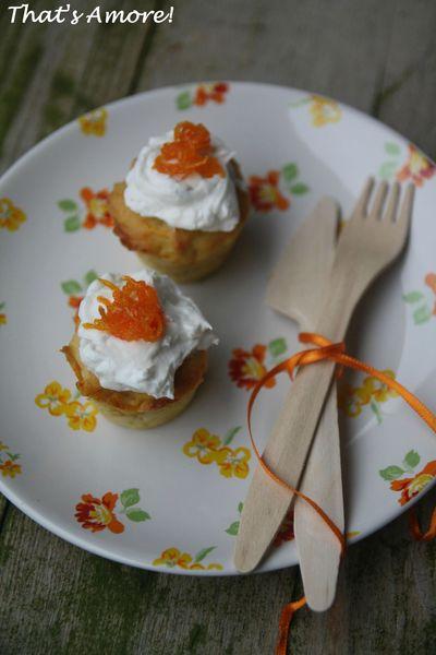 Petits gâteaux aux carottes, abricots et pistaches