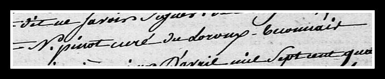 signature Noël Pinot
