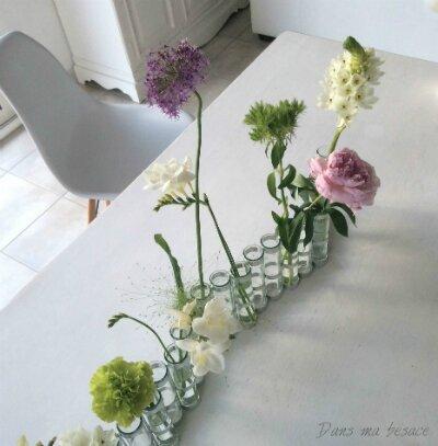 DansmaBesace - Vase d'avril Tsé Tsé - ce matin