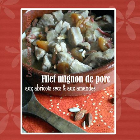 Filet mignon aux abricots secs & amandes (SCRAP)