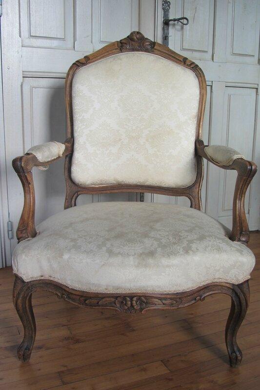 fauteuil à retapisser tapissier à brest