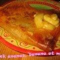 Brick ananas, banane et miel (a vos casseroles #10)