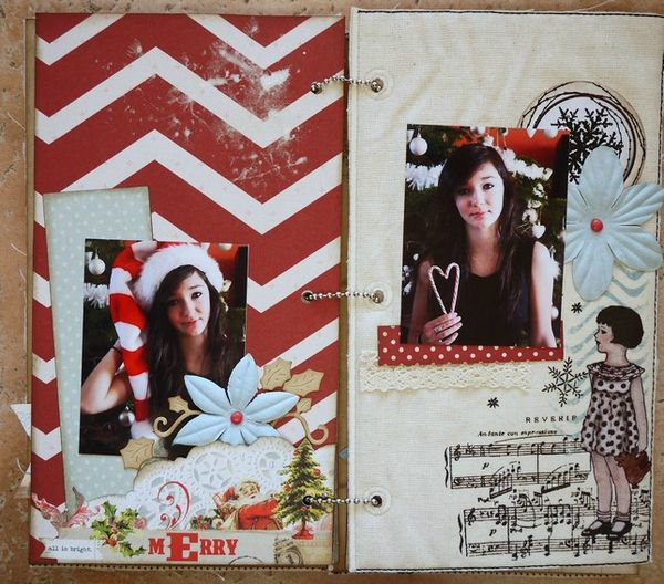 Mini album Scrapbox dcembre 13