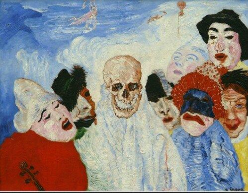 La mort et les masques de James Ensor