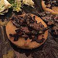 Polenta et poêlée de champignons