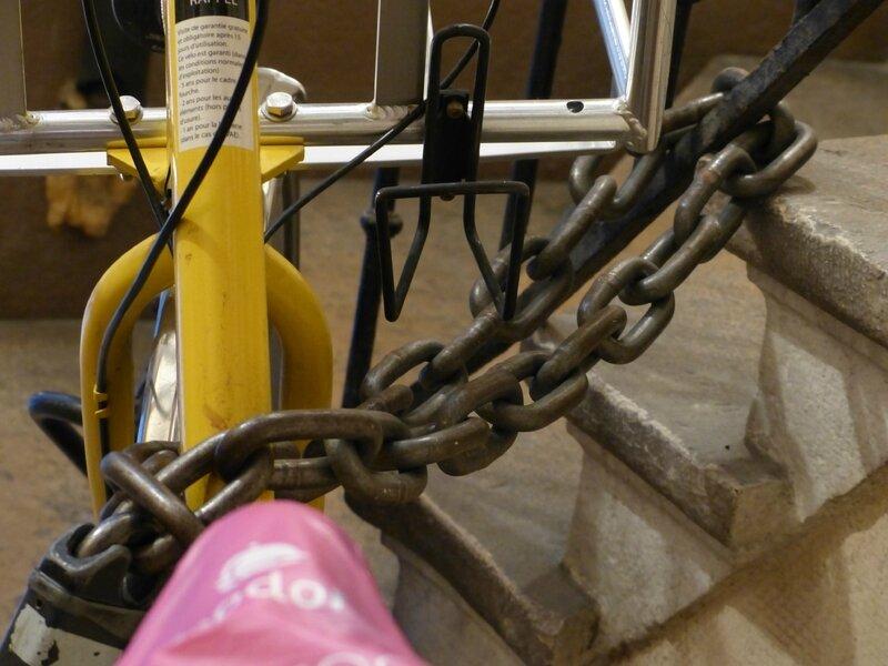 vélo jaune La Poste (2)