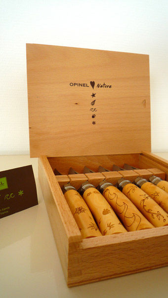 Opinel collection nature