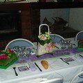 Centre de table pour mon mariage