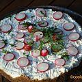 Matjestårta, le cheesecake aux harengs à la suédoise