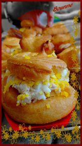 Petits choux mimosa (2)