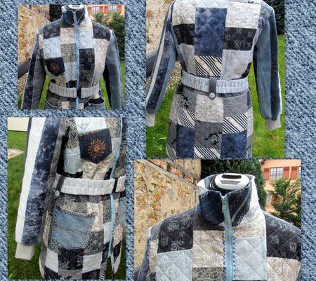 manteau détails