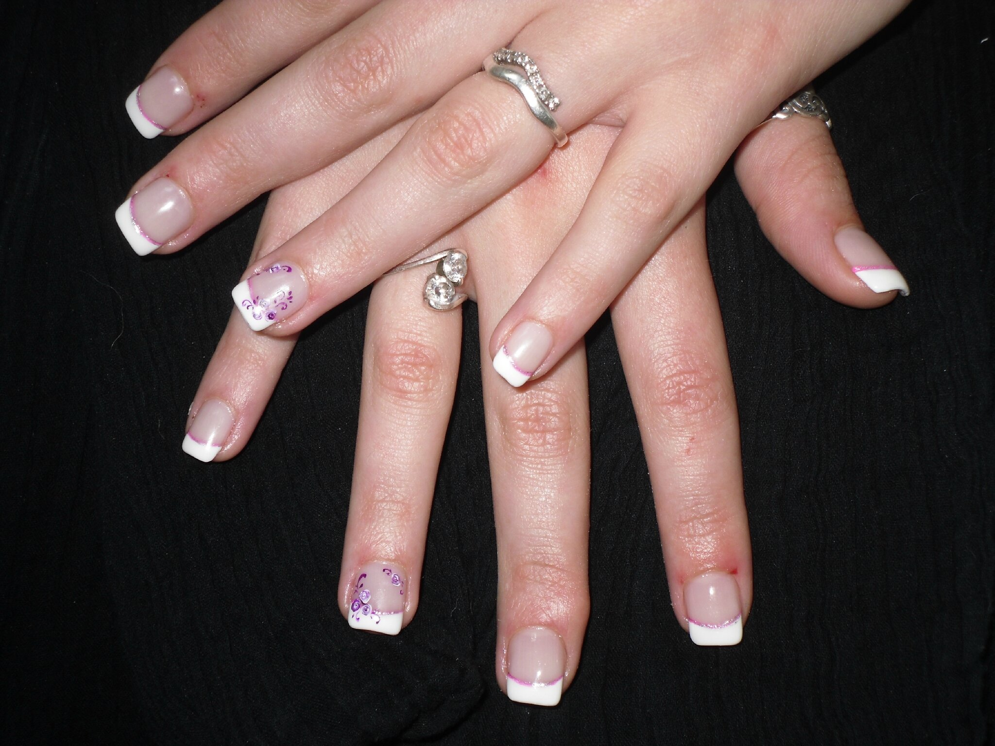 ... Nail Art Pinceau Court Pour Fines Décorations.  Free Image Nail Art