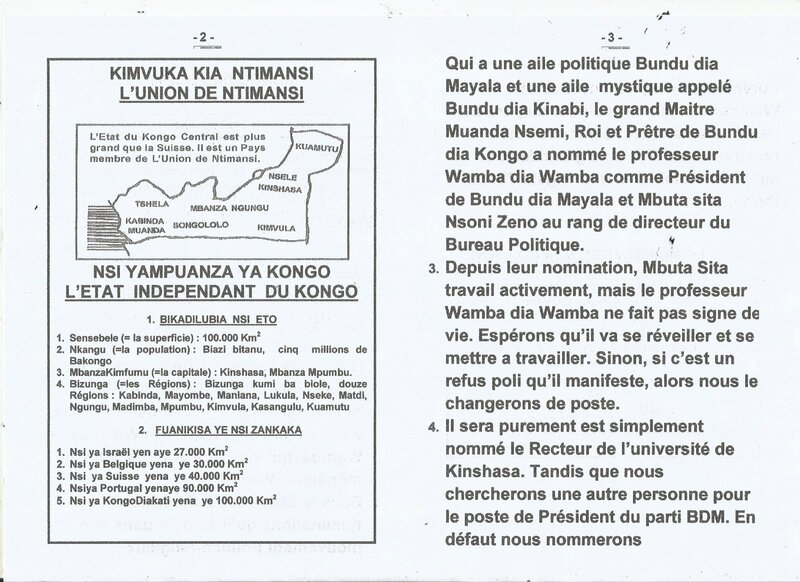 LE PROFESSEUR WAMBA DIA WAMBA NOMME RECTEUR DE L'UNIVERSITE DE KINSHASA b