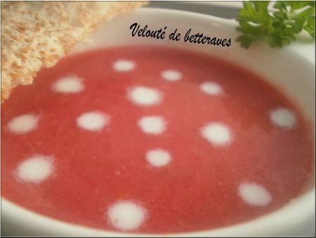 veloute betterave
