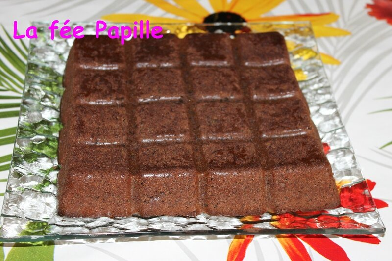 moelleux choco courgettes